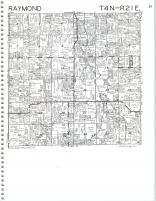 Map Image 026, Kenosha and Racine Counties 1986
